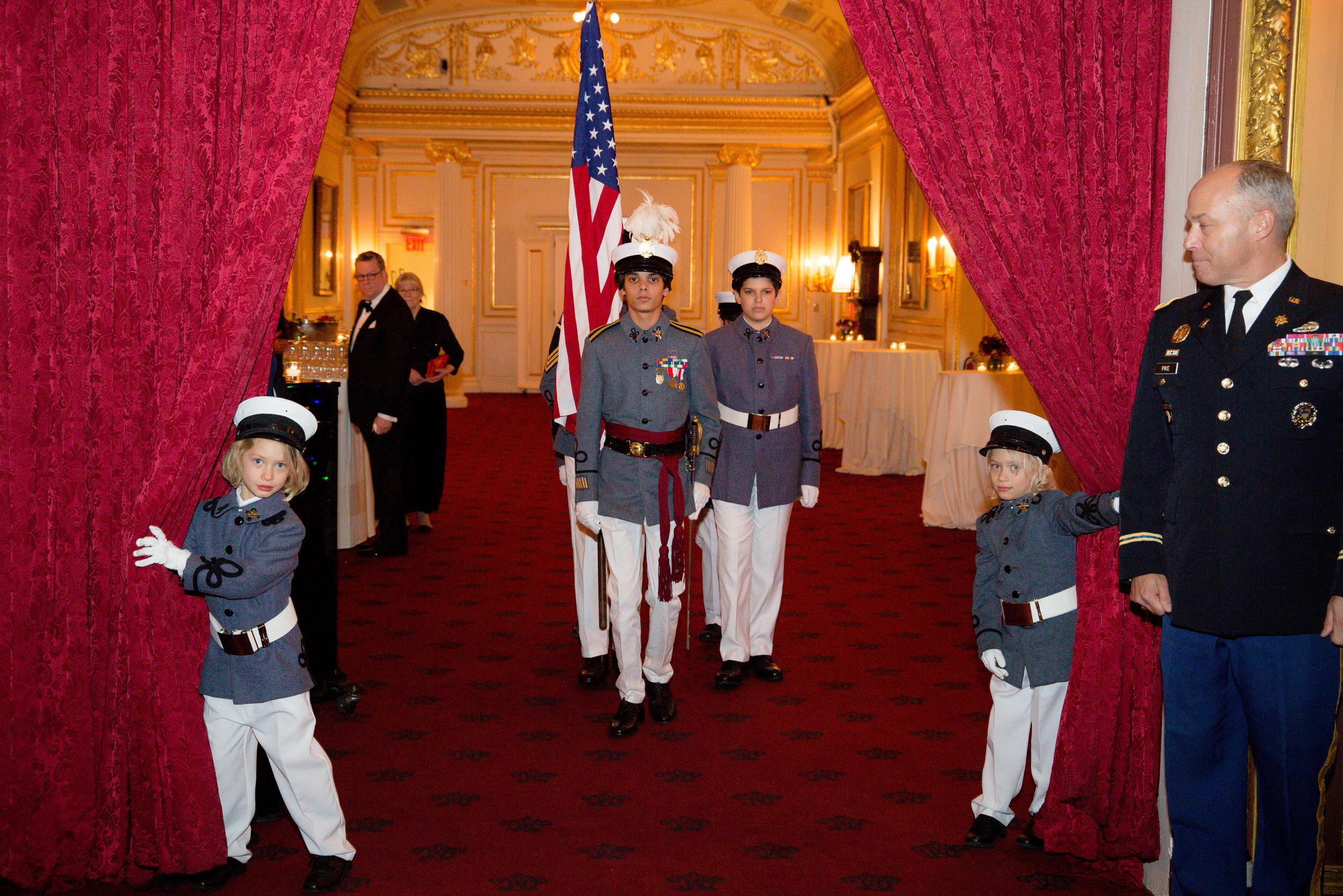 The Knickerbocker Greys Color Guard