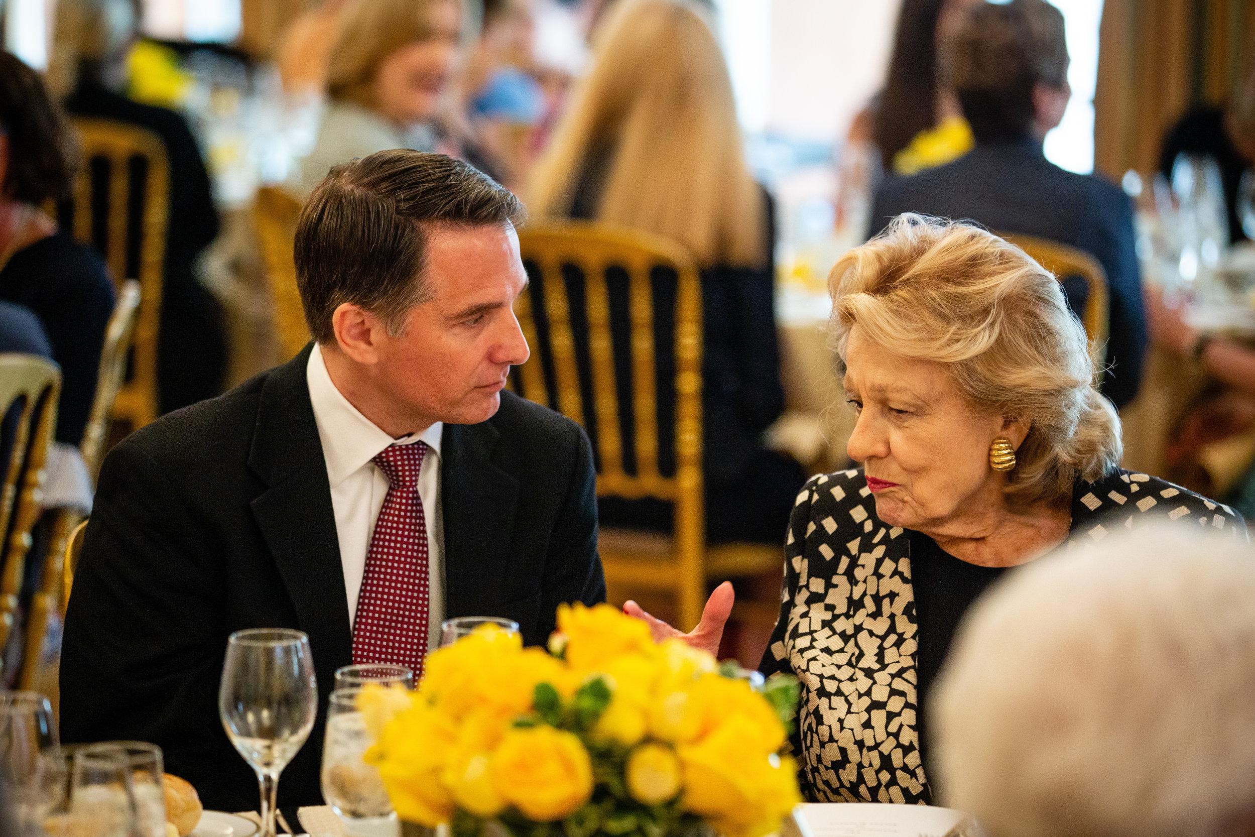 Glenn Nye, Elizabeth Scott