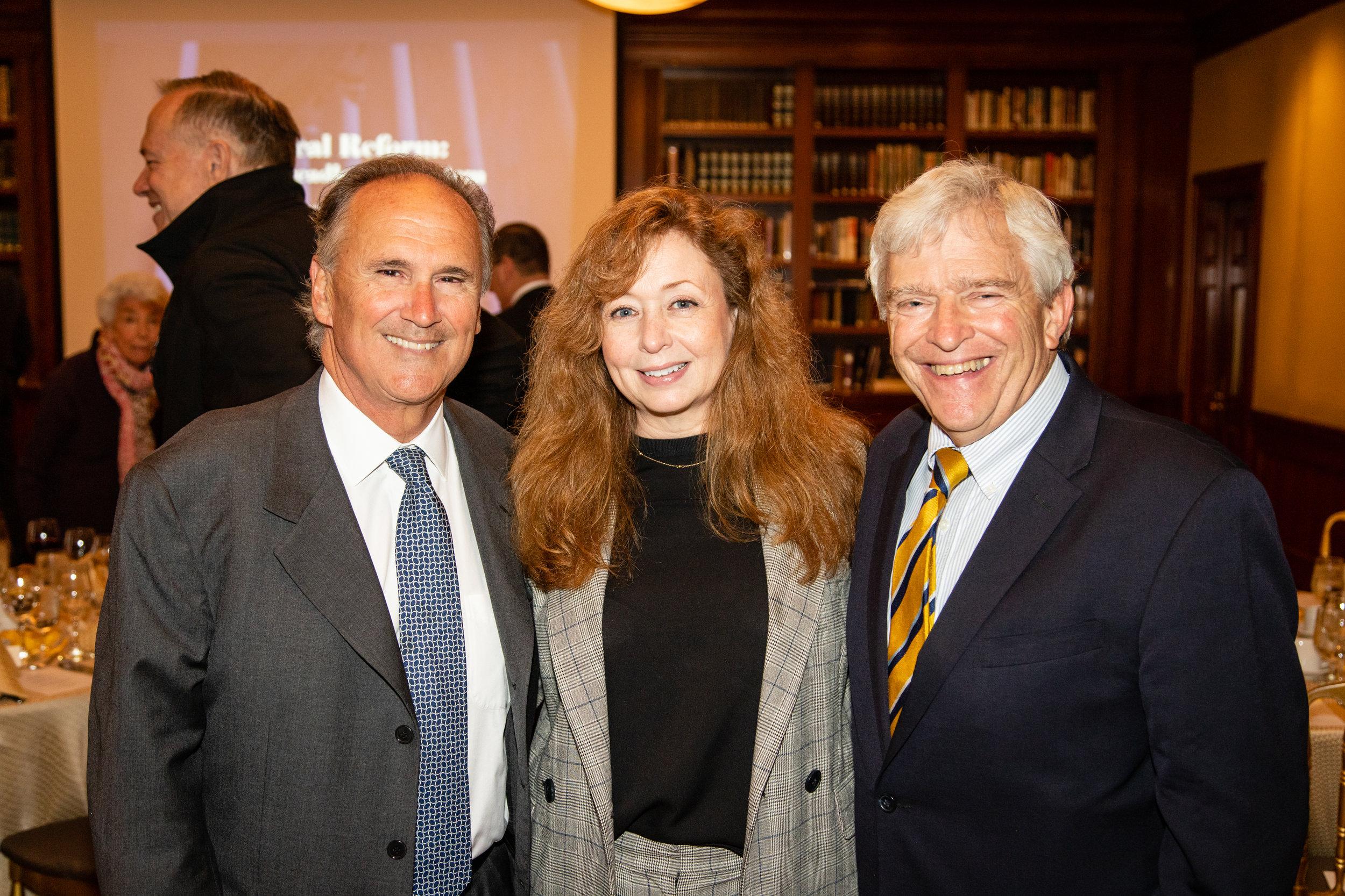 Paul Antinozzi, Kathleen Maher, Bruce Hawley
