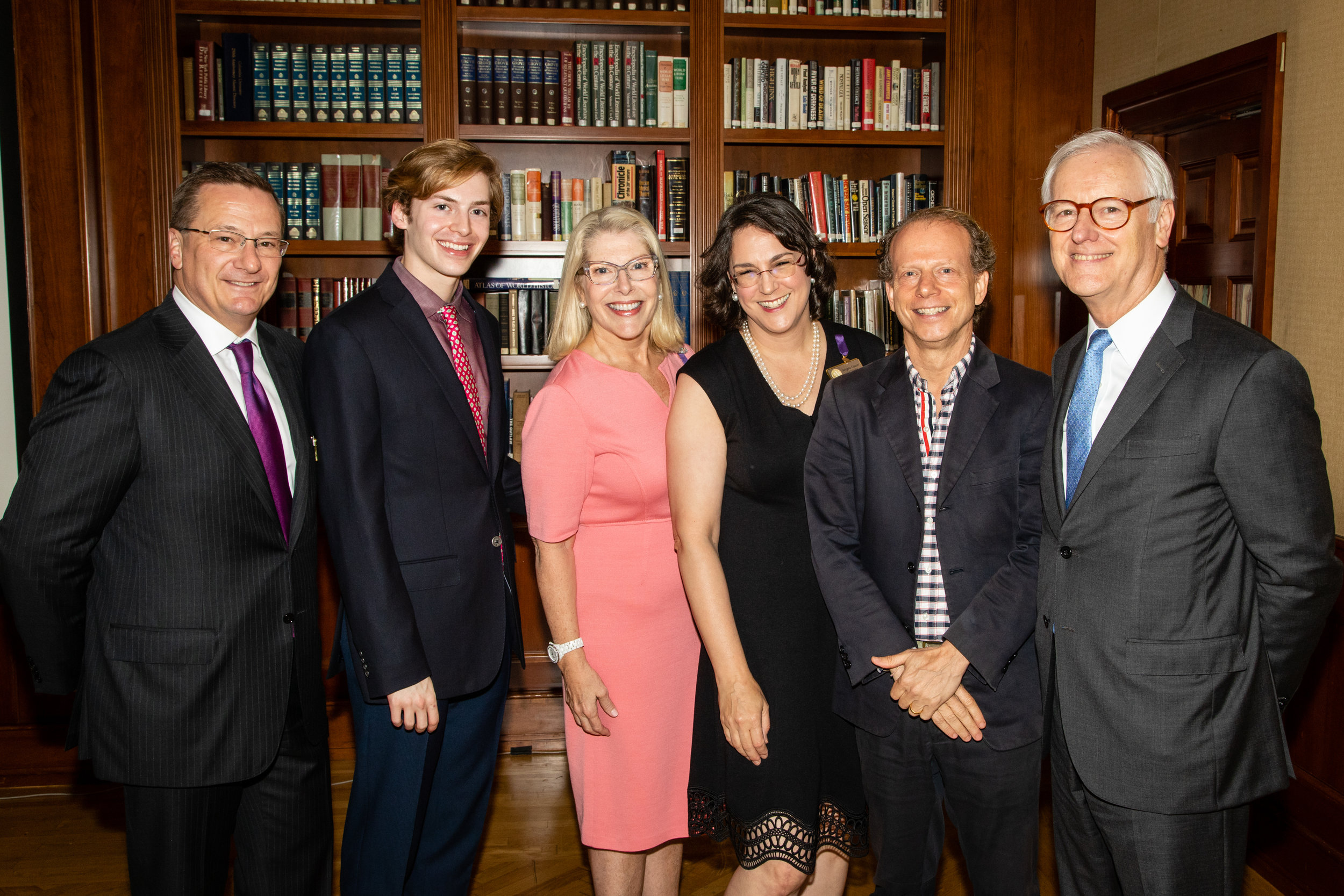 Fred Larsen, Henry Larsen, Michelle Larsen, Angela Cason, Bruce Cohen, Steven James
