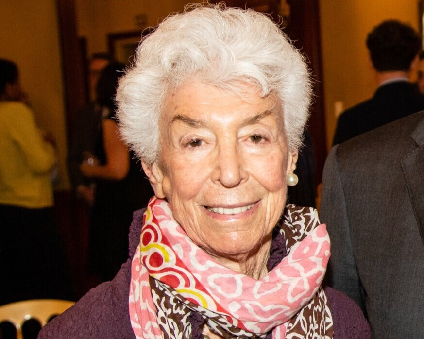 Joan Davidson at the National Institute's New York City Luncheon, June 20, 2019
