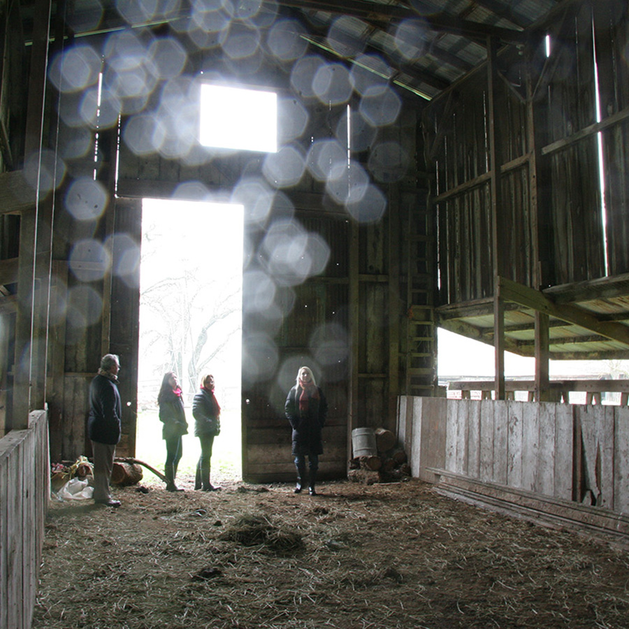 """The Tall barn """"before"""" picture."""