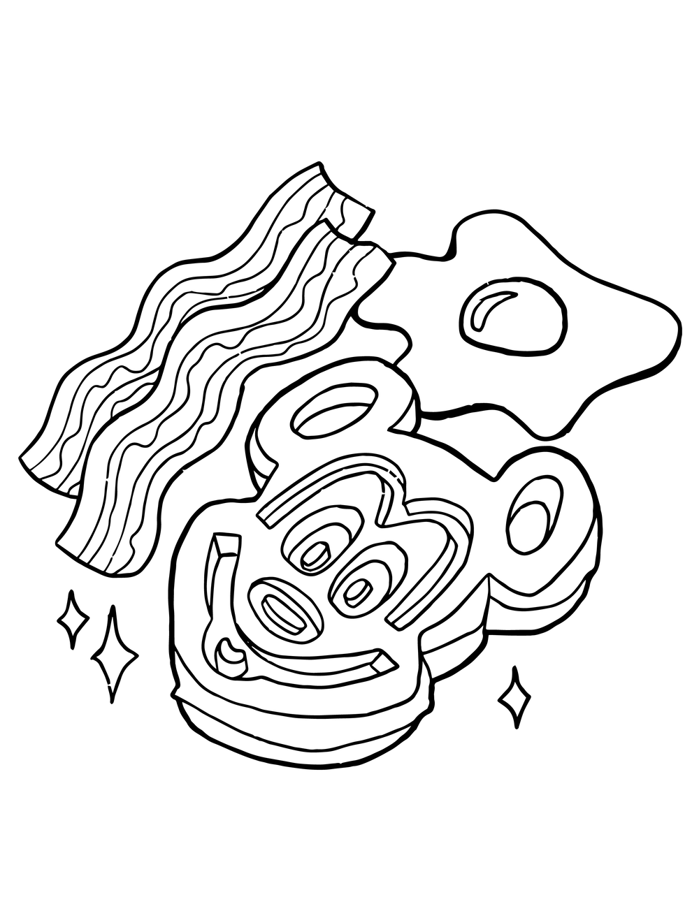 Free Disney Food Coloring Pages Rebecca Smith