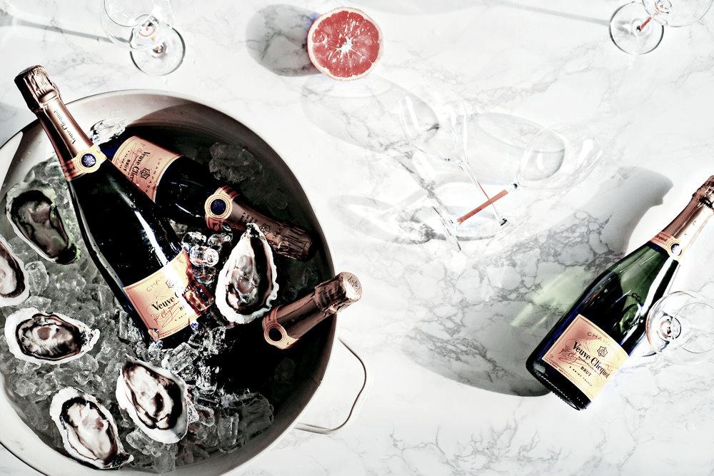 Jo Lorenz Veuve Clicquot food pairing series