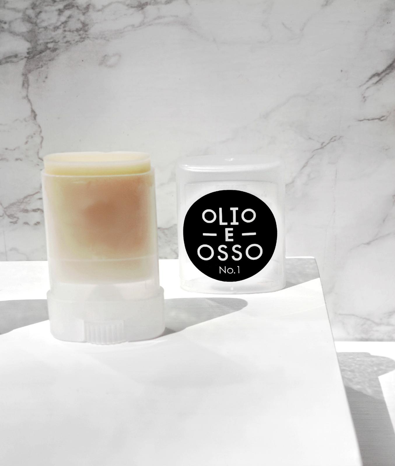 Olio E Osso clear balm no 1 Jo Lorenz Paola LaMorticella