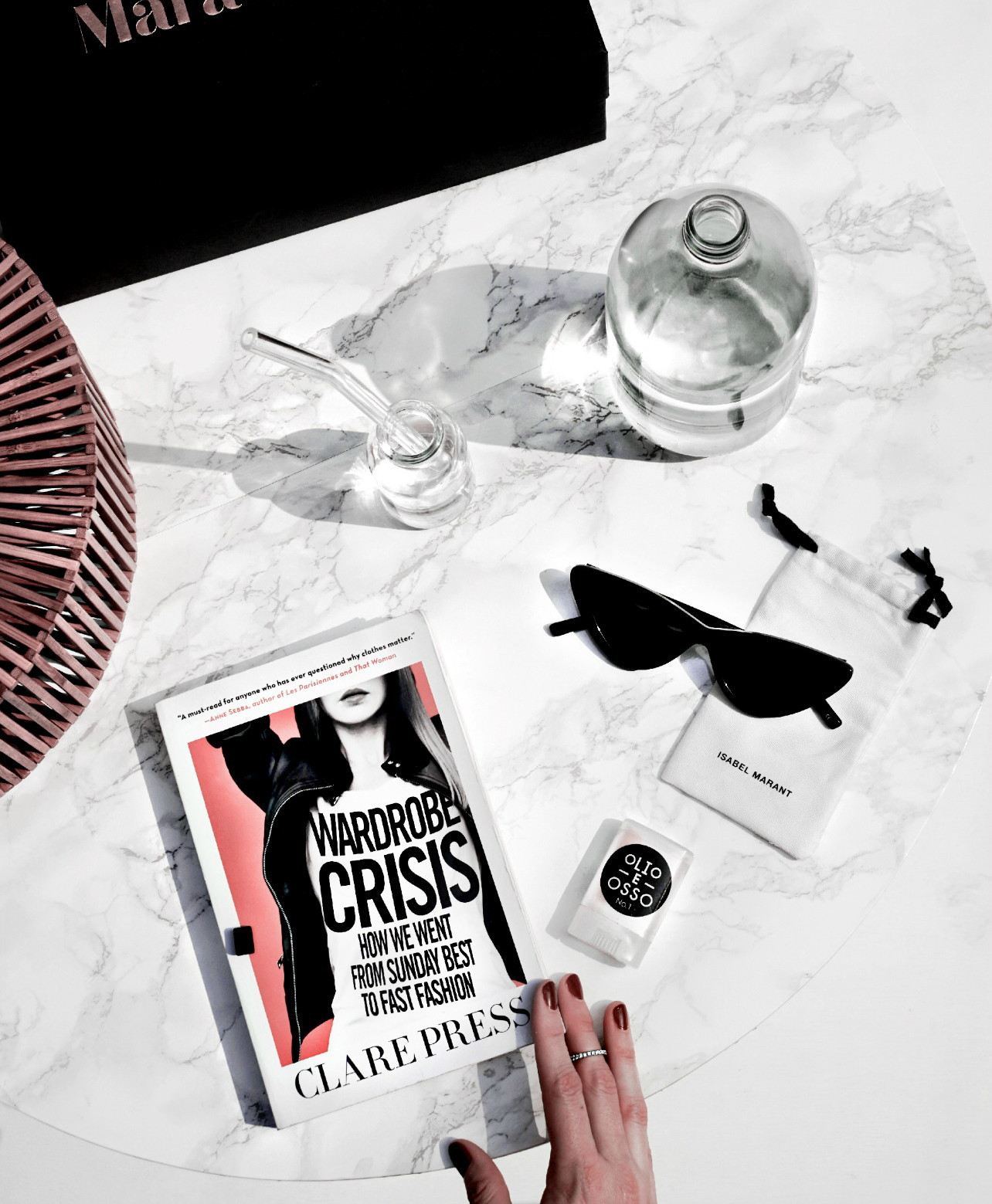 Clare's book  Wardrobe Crisis
