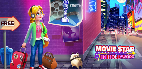 Movie Star in Hollywood  Do you want to be a super movie star in Hollywood?Don't you want to be a super movie star in Hollywood? Let's go to help the Crazy Dream Girl become a super movie star.