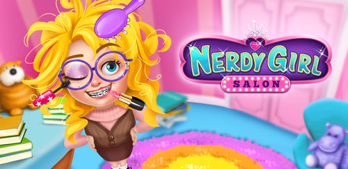 Nerdy Girl Make Up Salon  Welcome to the high school ever. The super nerd is so busy at school, they spend most of their time to study and barely have time to look in the mirror! What a mess!