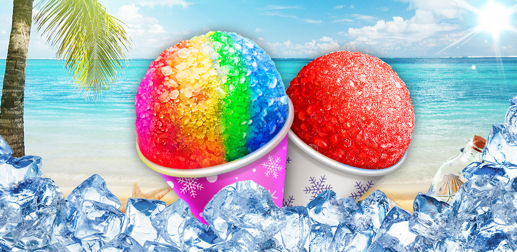 Snow Cone Maker - Frozen Foods  Keep a piece of summer with you ALL YEAR in this awesome snow cone making app!