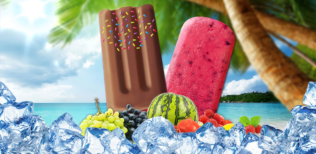 Rainbow Ice Popsicle DIY Salon  FUN Summer DIY ice pop dessert maker game! Add, MIX & create yummy fruit freeze!