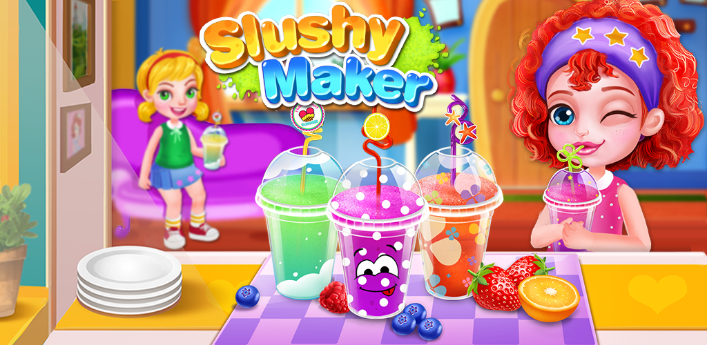 Frozen Slushy Maker  Make Sweet frozen ice treats! Decorate your summer dessert in rainbow colors NOW.
