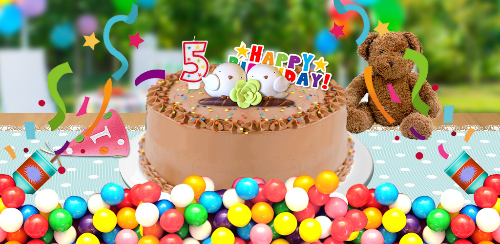 Birthday Cake! - Crazy Cooking  Be a kid chef by following the recipes! Bake and decorate by fruits & cream!
