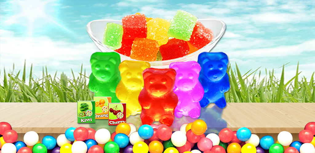 Gummie Bear Candy Maker  Decorate cute gummy candy with colors, chocolates,creams and shapes!
