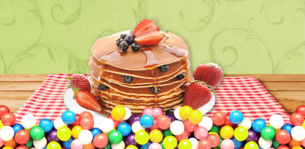Pancakes Maker  Learn to decorate pancakes for breakfast. Combine with honey, jam & drinks!