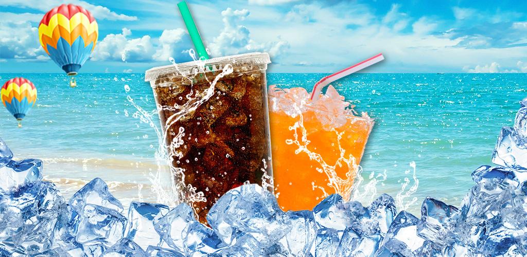 Soda Maker  Design & make unique summer soda drinks with creativity! Juice, ice & fruits!