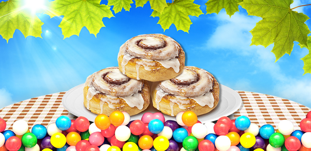 Cinnamon Roll Maker  Kids kitchen game! Learn to make yum food in real kitchen scenes! Taste & share!