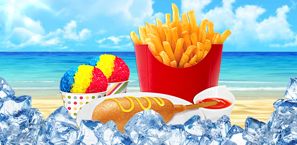 Street Food Maker - Cook it!  Make hot dogs, fries & tacos in this all NEW & fun kids street food maker game!