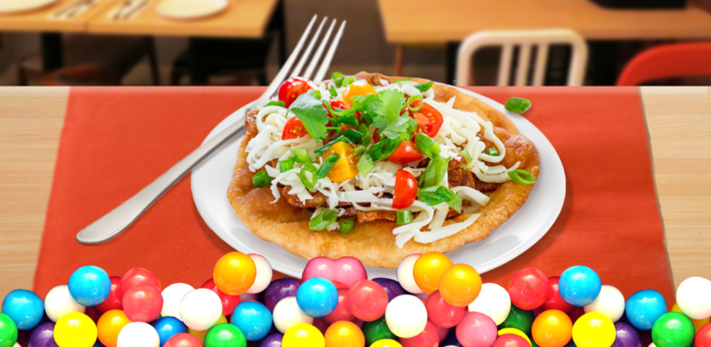 Fry Bread Maker  Have some freshly fried bread for breakfast! A DIY game, that makes kids food.
