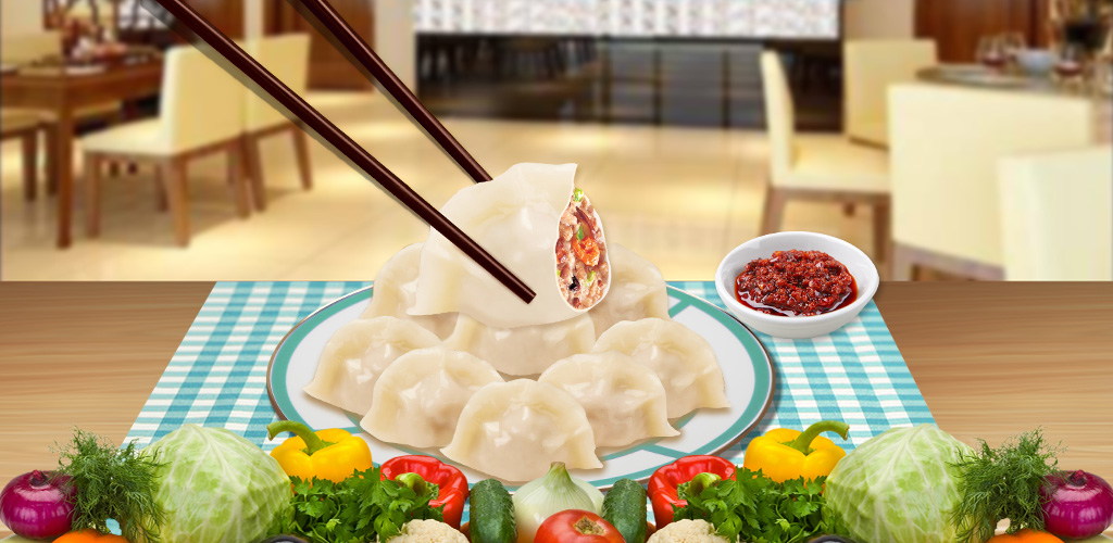 Dumpling Maker! Food Game  Don't you just love these little packages that are bursting with deliciousness? Come and learn how to make dumplings with this awesome Dumplings Maker app game!!!