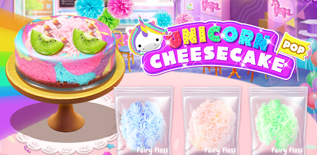 Unicorn Cheesecake Maker - Cooking Games for Girls - The #1 Rated & FREE Baking game. Bake Yummy Rainbow Unicorn Cheesecakes!