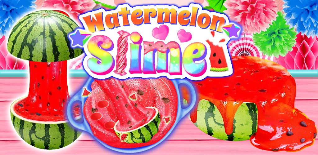 Watermelon Slime: Cooking Games for Girls - Let's make tons of watermelon slime! A cool cooking game with TONS of WATERMELON SLIME flavors!