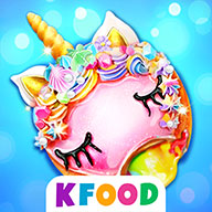 Unicorn Donuts: Cooking Games for Girls - The #1 Rated & FREE Cake Baking Game. Fun Donut Cooking Game for Kids