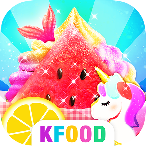 Unicorn Chef: Summer Ice Foods - Cooking Games - Ice Foods Cooking Games for Girls! With Ice Cream, Smoothies, Slushy and more!