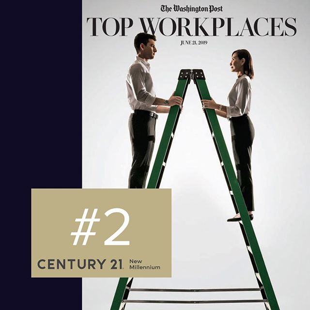 Thanks @washingtonpost for the incredible spot! I'm glad I get a chance to work at such an incredible company like @century21nm and with the best agents in the industry. #c21nm #century21 #washpost #dmv #virginia #maryland #dc #realestate #thesmartermove