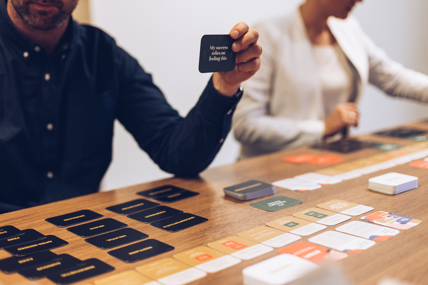 The Emotional Culture Deck helps leaders design and build their culture. The deck brings your people together to help you uncover the motivations of your people.