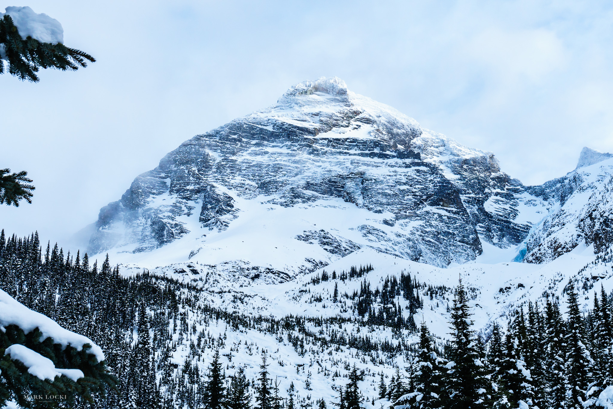 Mount Sir Donald, one of the iconic peaks in Rogers Pass