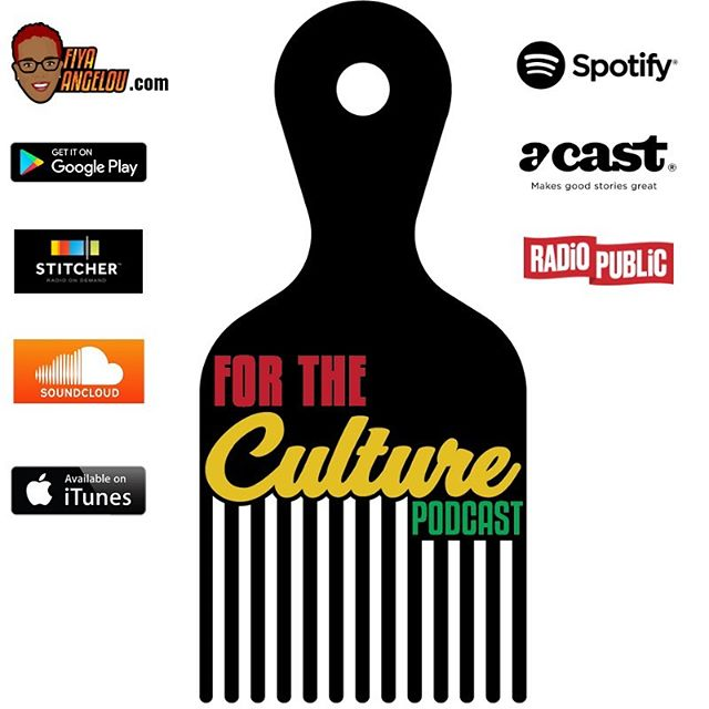 The For the Culture Podcast is back!! We are live everywhere! #TheForTheCulturePodcast #FiyaAngelou  #BlackCulture #ScholasticHilarity #PalatableAdvocacy #CulturalCommentary #BlackPodcaster #BlackWomenPodcasts #BlackAndQueer  #BlackPodcast #DMVPodcast #ForTheCulture #BlackWomen #podsincolor