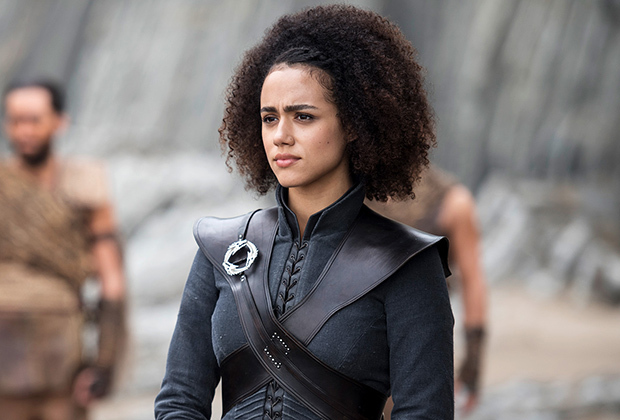 """Missandei of Narth - Last Words: """"THE ROOF, THE ROOF, ALL THE ROOFS ARE ON FIRE, THEY DON'T NEED NO WATER. MAKE KING'S LANDING BURN!"""" Or whatever Rock Master Scott and the Dynamic Three said."""