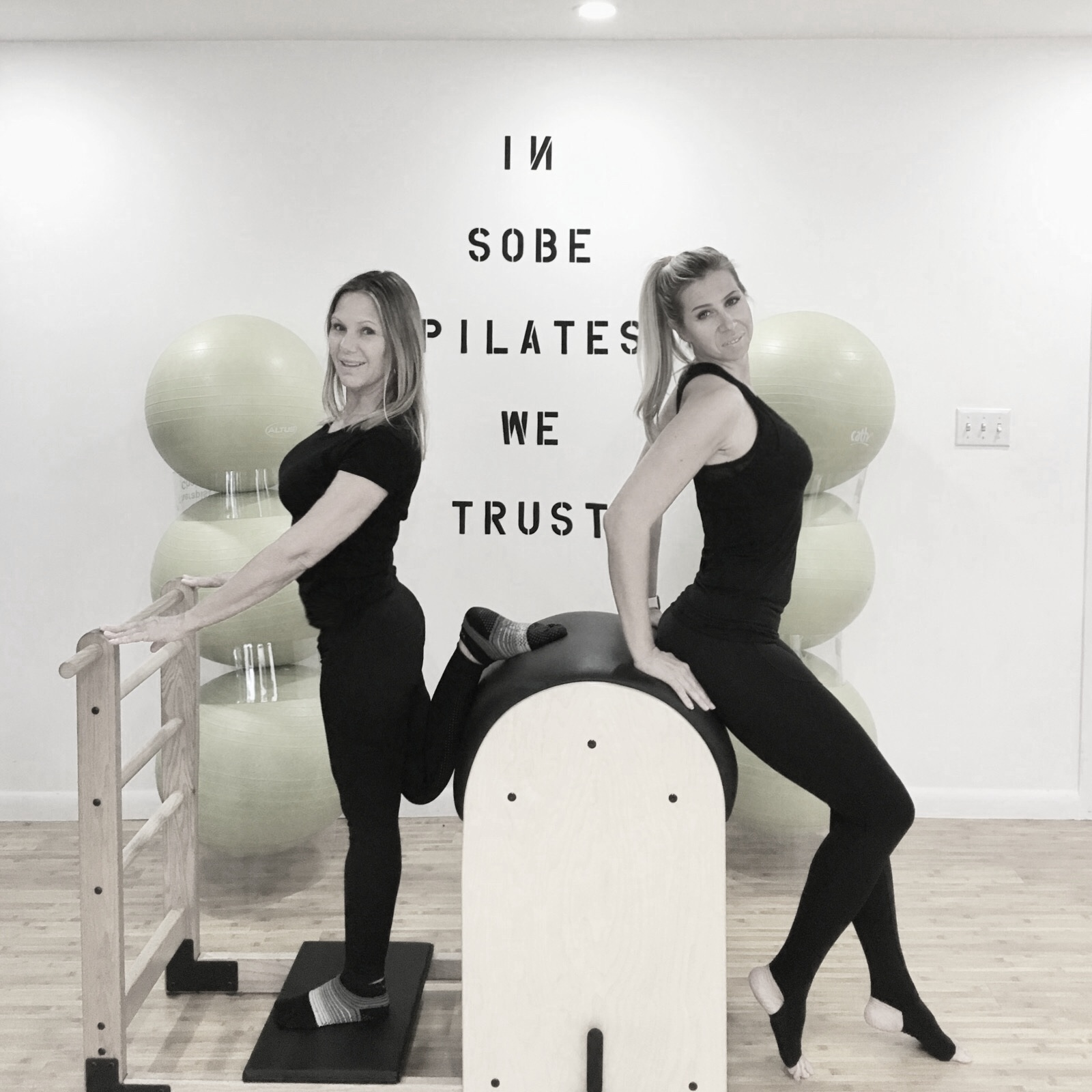 owners, susie karvelis and tina bassanese opened sobe pilates in 2008. sharing their knowledge of pilates is their passion. they both have experienced how pilates can transform bodies, enhance the mind/body connection and improve quality of life.