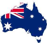 Australia Flag Homestay