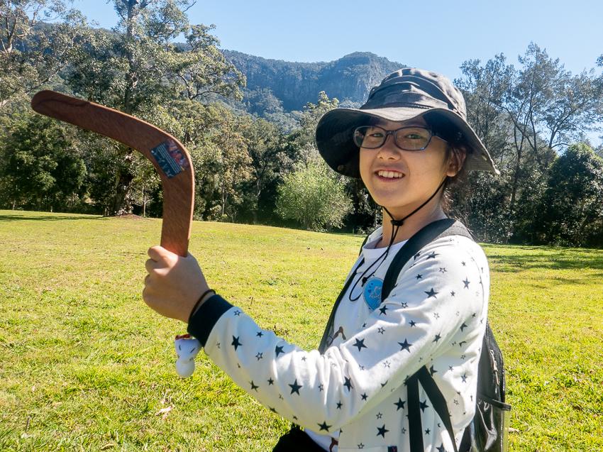 Rokka in Australia with Acorn