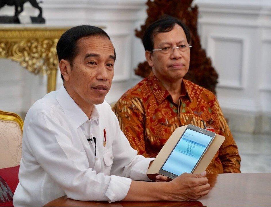 Credits:  Sekretariat Kabinet Republik Indonesia