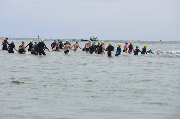 A record number of swimmers competed in this years Wreck2Reef!  What an amazing turnout! You could really feel the energy in the atmosphere we couldn't of asked for a better day! Thanks to the Bellarine Times for the great article! @surfcoasttimesofficial  #Wreck2Reef #fundraiser #community #swim #sponsors