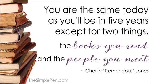Charles Tremendous Jones...words of wisdom!
