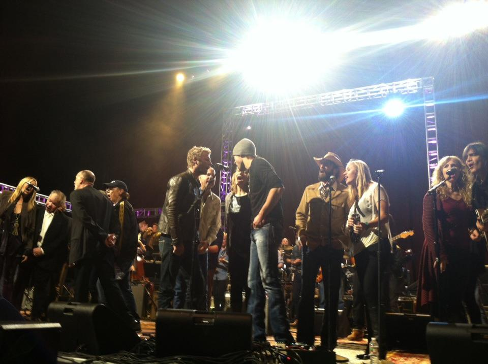 Love for Levon Benefit concert, New York City, 2012