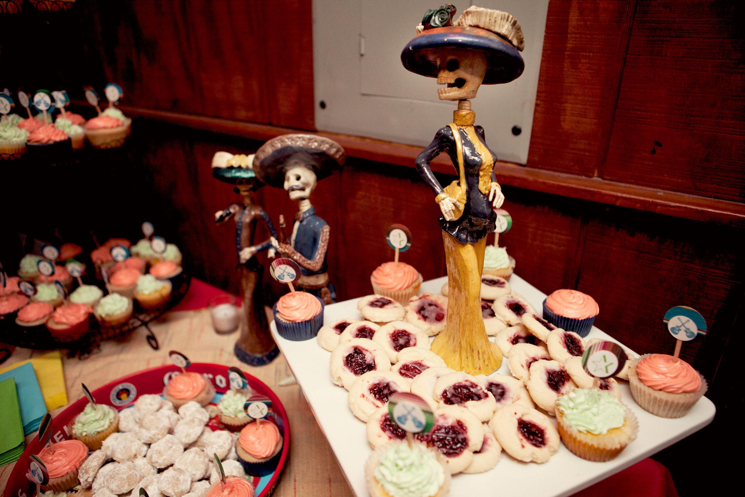 Dia de los Muertos Dessert Table