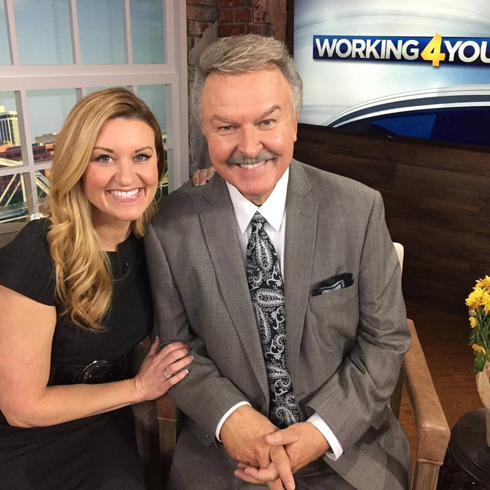 Kelly Sutton with Charlie Chase