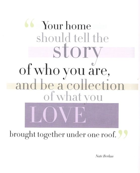 Nate Berkus Home Quote