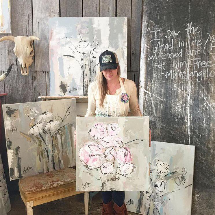 Deann and some of her latest work