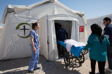 Mobile Hospital in Mosul, Iraq