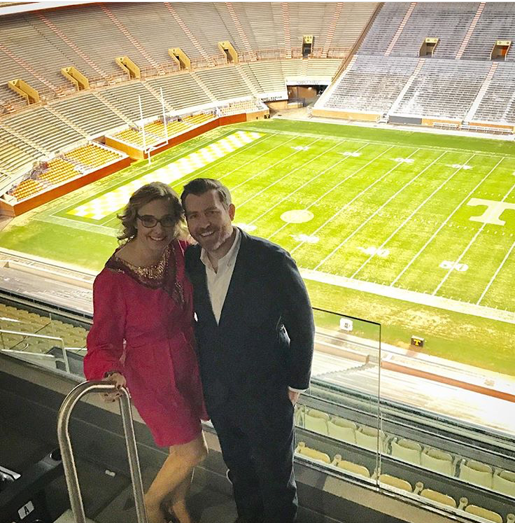 Michele and Andy Purcell, Neyland Stadium