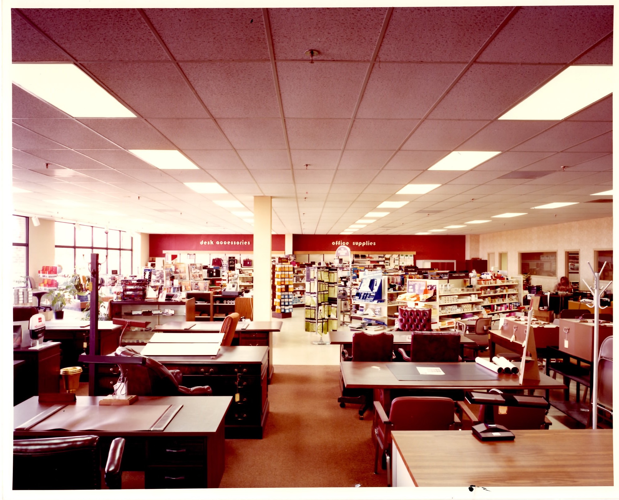 Picture taken in the mid 1980s-Furniture Showroom of Tom Lawler's