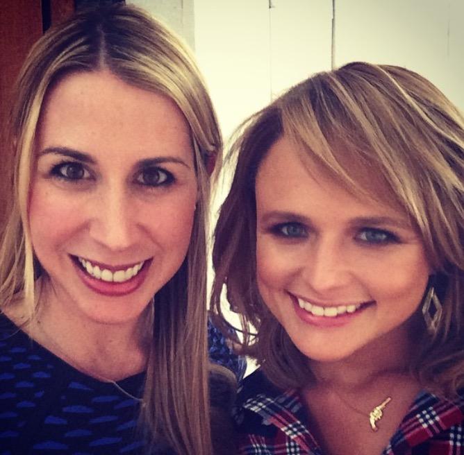 Rachel and Miranda