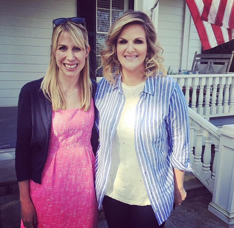 Rachel and Trisha Yearwood