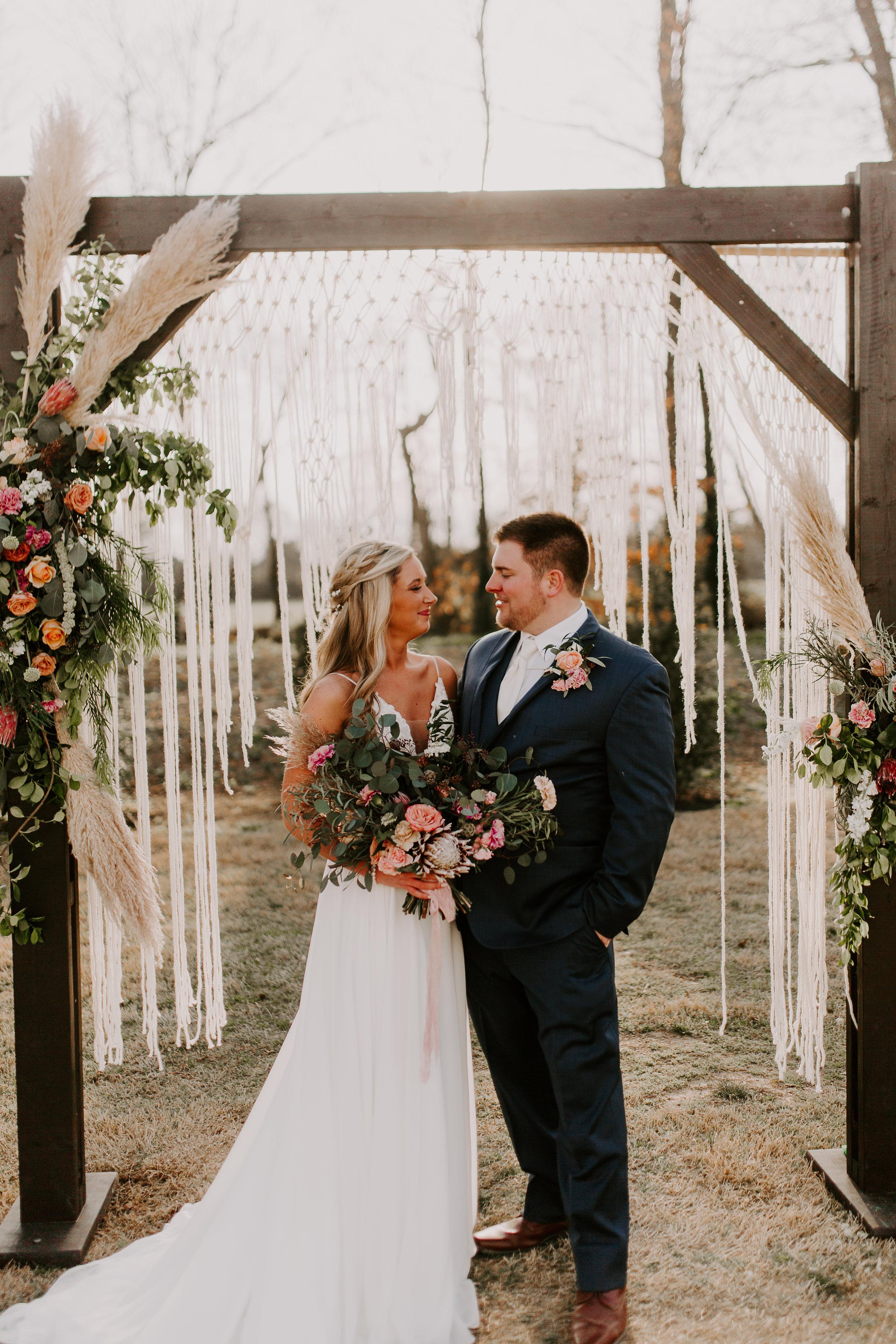 Bohemian Wedding Arbor