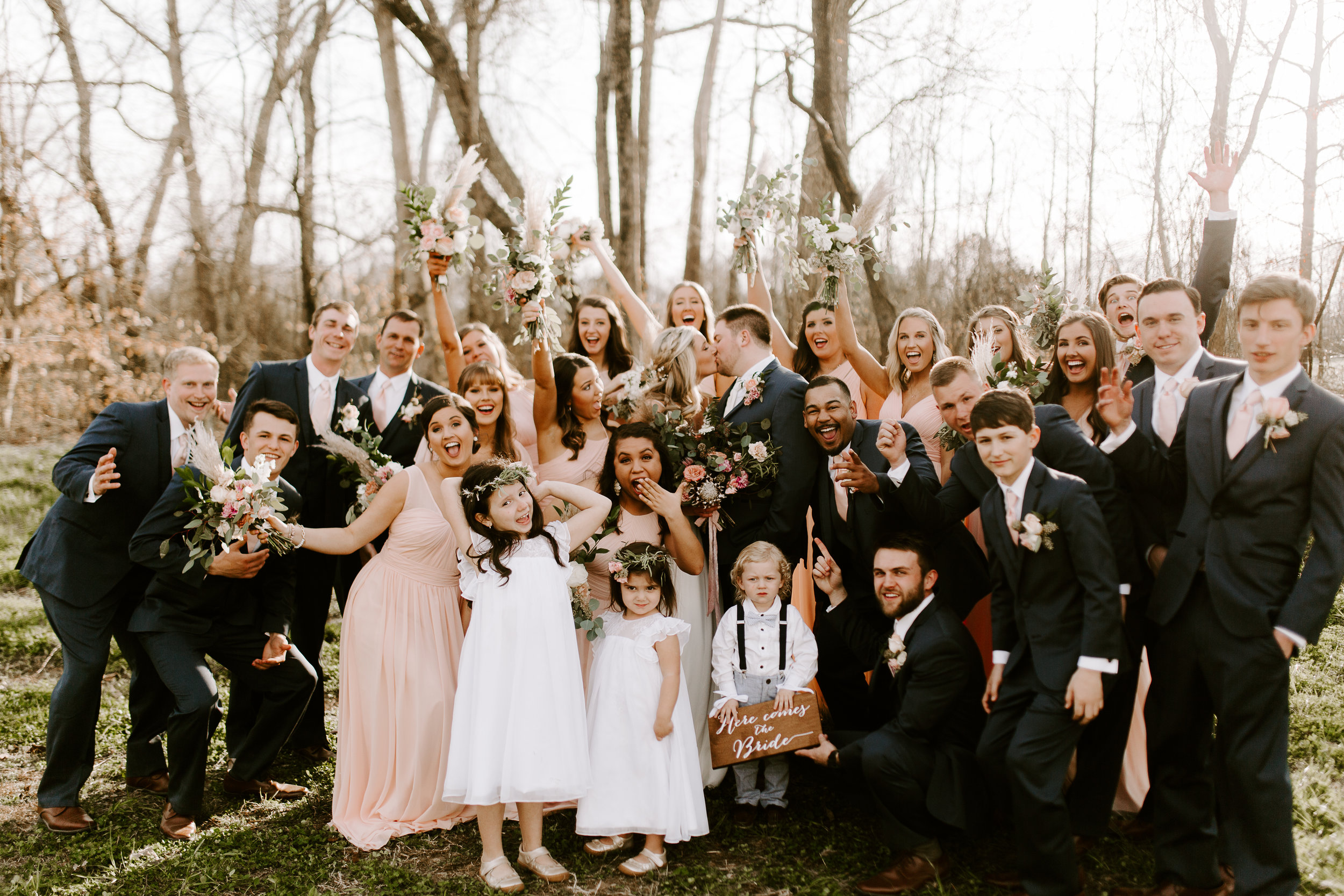Tennessee Wedding Party